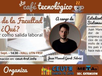 Café Tecnológico - Invitado Juan Manuel Gareli Fabrizi