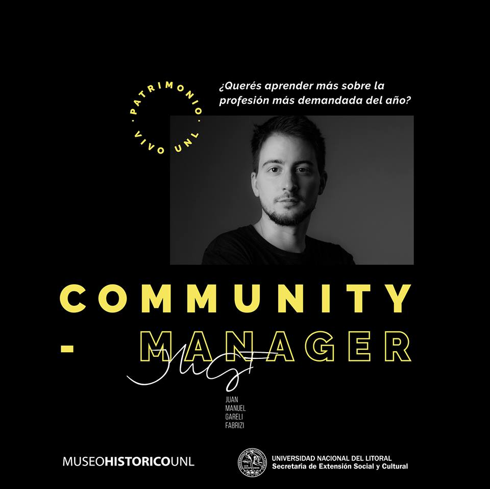Workshop Community Manager UNL MUSEO Historico