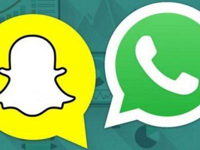 snapchat destrono a whatsapp
