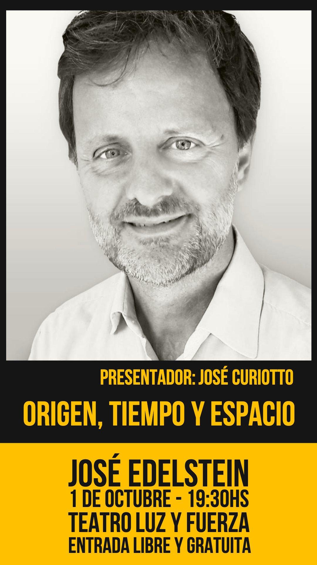 Origen, Tiempo y Espacio - José Curiotto