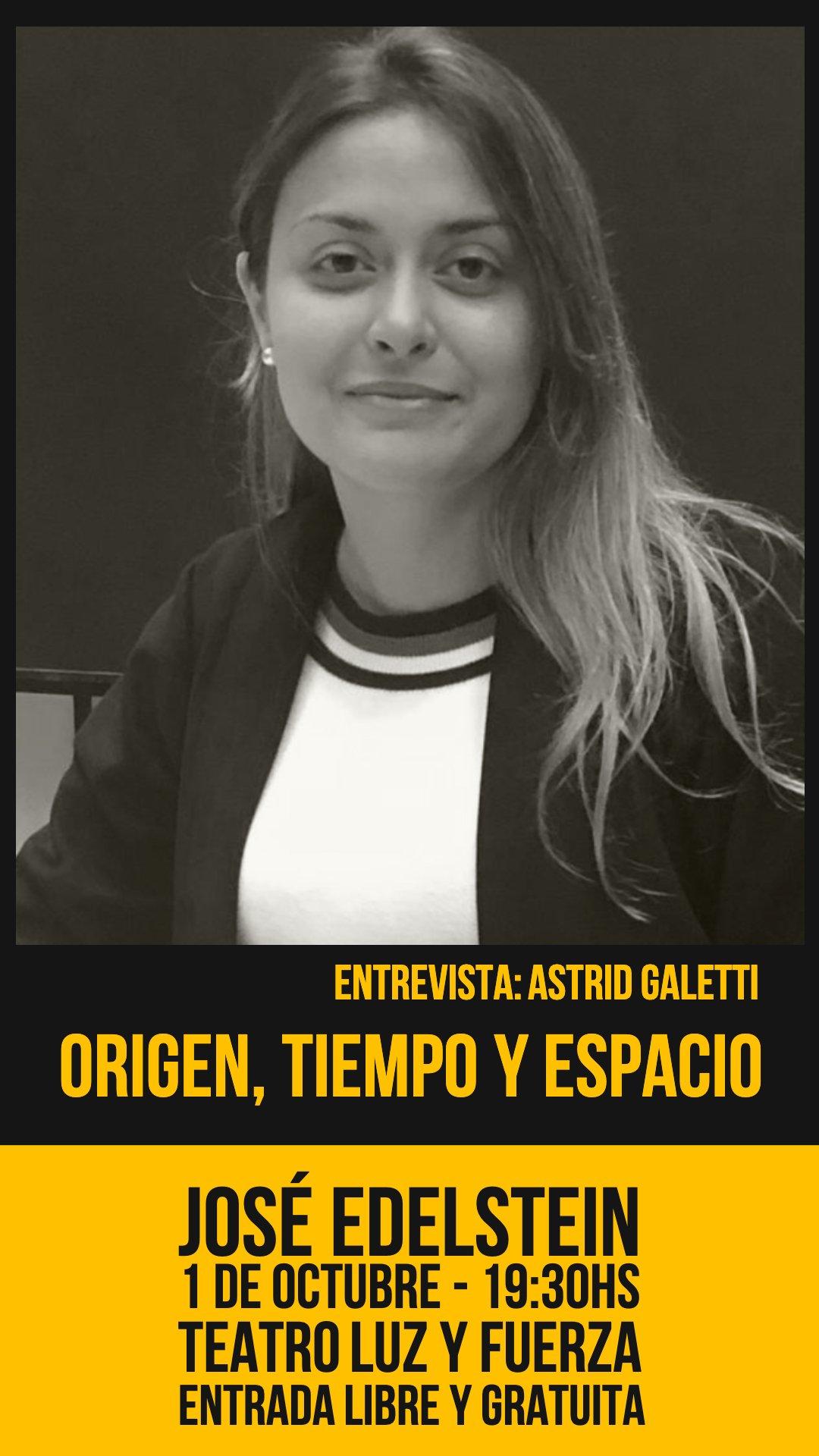 Origen, Tiempo y Espacio - Astrid Galetti